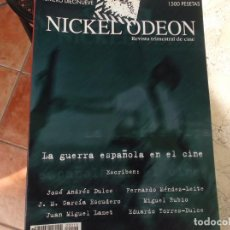 Cine: NICKEL ODEON Nº DIECINUEVE, 2000, LA GUERRA ESPAÑOLA EN EL CINE. Lote 272242803