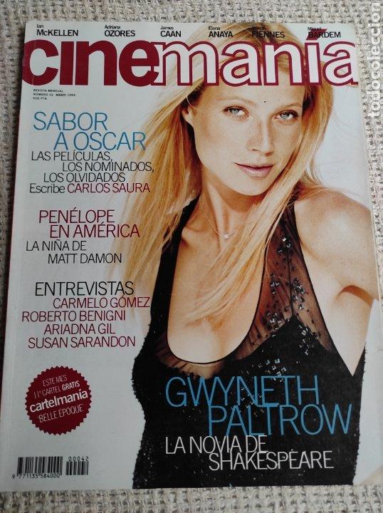 CINEMANÍA Nº 42 MARZO 1999 ARIADNA GIL, SUSAN SARANDON (Cine - Revistas - Cinemanía)