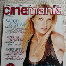 Cine: CINEMANÍA Nº 42 MARZO 1999 ARIADNA GIL, SUSAN SARANDON. Lote 272280873