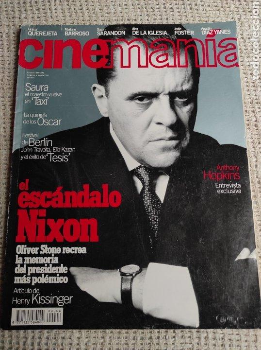 CINEMANÍA Nº 6 MARZO 1996 - ANTHONY HOPKINS, SUSAN SARANDON, ALEX DE LA IGLESIA (Cine - Revistas - Cinemanía)