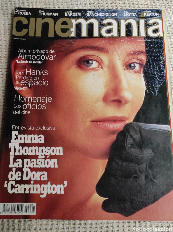 CINEMANÍA Nº 1 OCTUBRE 1995 EMMA THOMPSON LA PASIÓN DE DORA. ALMODÓVAR. LA FLOR DE MI SECRETO (Cine - Revistas - Cinemanía)