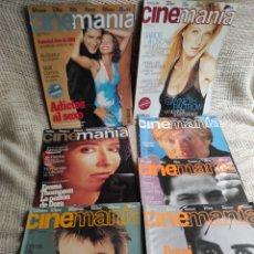 Cine: CINEMANÍA - LOTE DE 15 EJEMPLARES - REVISTAS DE CINE. Lote 272283178