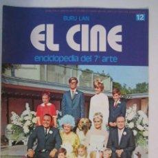 Cine: REVISTA EL CINE (7º ARTE) 1974 BUSTER KEATON,IMPERIO ARGENTINA ,PLACIDO (BERLANGA) ETC. Lote 272651188
