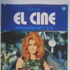 Cine: REVISTA EL CINE (7º ARTE) 1974 JANE FONDA EL LAGO ENCANTADO (MELIES 1908) ETC. Lote 272651388