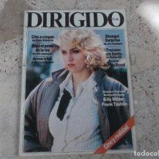 Cinema: DIRIGIDO POR Nº 149, DOSSIER COMEDIA NORTEAMERICANA BILLY WILDER, MADONNA SHANGAI SURPRISE, CITA A C. Lote 272868553