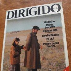 Cine: REVISTA DE CINE DIRIGIDO POR NÚMERO 104 ERICE SCORSESE. Lote 272868928