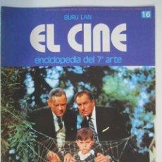 Cine: REVISTA EL CINE (7º ARTE) 1974 LOS PAJAROS HITCHCOCK ETC. Lote 272884988