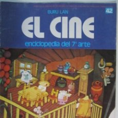 Cine: REVISTA EL CINE (7º ARTE) 1974 ESPECIAL COMICS ETC. Lote 272886548