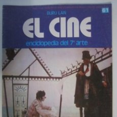 Cine: REVISTA EL CINE (7º ARTE) 1974 LA NARANJA MECANICA DE KUBRICK LUIS BUÑUEL ETC. Lote 272888108