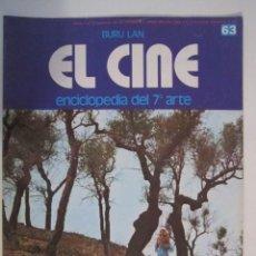Cine: REVISTA EL CINE (7º ARTE) 1974 ESPECIAL CINE DE VANGUARDIA ETC. Lote 272888773