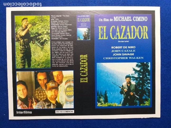 PAGINA DE REVISTA CON PUBLICIDAD LA PELÍCULA: EL CAZADOR DE CIERVOS. ROBERT DE NIRO (Cine - Revistas - Acción)