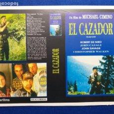 Cine: PAGINA DE REVISTA CON PUBLICIDAD LA PELÍCULA: EL CAZADOR DE CIERVOS. ROBERT DE NIRO. Lote 272911803