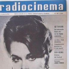 Cine: REVISTA RADICINEMA 1962 Nº 519. Lote 272916743