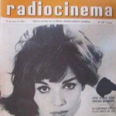 Cine: REVISTA RADICINEMA 1962 Nº 521 TODO SOBRE CINE, TEATRO Y MUSICA. Lote 272917273