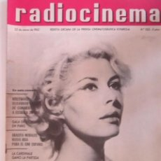 Cine: REVISTA RADICINEMA 1962 Nº 522 TODO SOBRE CINE, TEATRO Y MUSICA. Lote 272917473