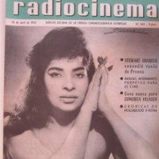 Cine: REVISTA RADICINEMA 1962 Nº 525 TODO SOBRE CINE, TEATRO Y MUSICA. Lote 272917633