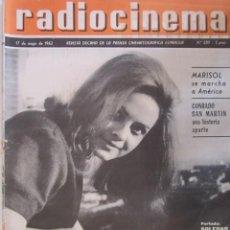 Cinema: REVISTA RADICINEMA 1962 Nº 530 TODO SOBRE CINE, TEATRO Y MUSICA. Lote 272918193