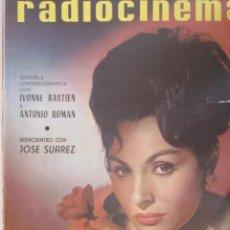 Cine: REVISTA RADICINEMA 1963 Nº 581 TODO SOBRE CINE, TEATRO Y MUSICA. Lote 272918828