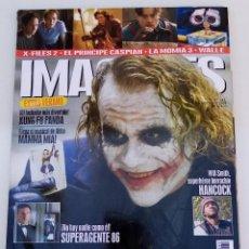 Cine: IMÁGENES DE ACTUALIDAD N° 282 (2008). BATMAN: EL CABALLERO OSCURO, WILL SMITH,.... Lote 273258508