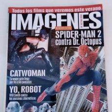 Cine: IMÁGENES DE ACTUALIDAD N° 238 (2004). SPIDERMAN 2, CATWOMAN, KILL BILL 2, YO ROBOT,.... Lote 273258773