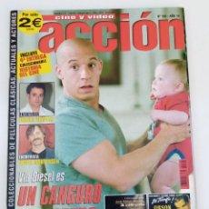 Cine: ACCIÓN Nº155 - CONSERVA LOS POSTERS. Lote 273262673
