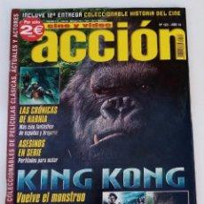 Cine: ACCIÓN Nº163 - CONSERVA LOS POSTERS. Lote 273262943
