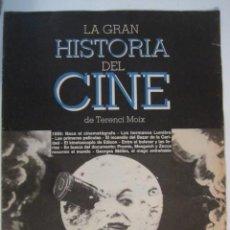 Cine: REVISTA LA GRAN HISTORIA DE CINE Nº 1 TERENCI MOIX. Lote 273270033