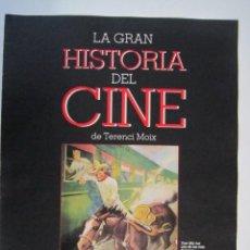Cine: REVISTA LA GRAN HISTORIA DE CINE Nº 5 TERENCI MOIX. Lote 273270643
