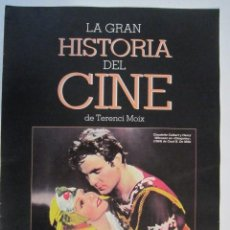 Cine: REVISTA LA GRAN HISTORIA DE CINE TERENCI MOIX Nº16. Lote 273271393