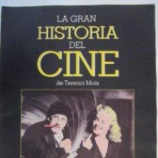 Cine: REVISTA LA GRAN HISTORIA DE CINE TERENCI MOIX Nº17. Lote 273271433