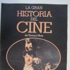 Cine: REVISTA LA GRAN HISTORIA DE CINE TERENCI MOIX Nº22. Lote 273271728