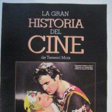 Cine: REVISTA LA GRAN HISTORIA DE CINE TERENCI MOIX Nº16. Lote 273277608