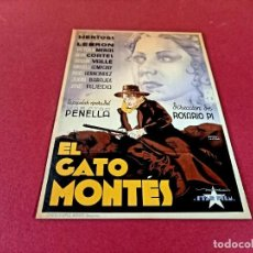 Cine: CARTEL CINEMATOGRAFICO -MEDIDAS 16 X 22,50 CMS. Lote 274191658