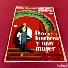 Cine: CARTEL CINEMATOGRAFICO -MEDIDAS 16 X 22,50 CMS. Lote 274191838