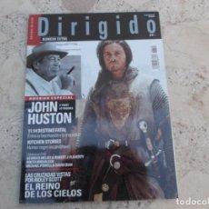 Cine: DIRIGIDO POR Nº 345,EXTRA, DOSSIER JOHN HUSTON, EL REINO DE LOS CIELOS, KITCHEN STORIES,. Lote 274319333