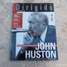 Cine: DIRIGIDO POR Nº 344,EXTRA, DOSSIER JOHN HUSTON 1 PARTE, INGMAR BERGMAN Y JACQUES TOURNEUR,. Lote 274319378