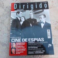 Cine: DIRIGIDO POR Nº 369, EXTRA , DOSSIER CINE DE ESPIAS, GRAHAM GREENE, LAS PELIS DE JOHN LE CARRE. Lote 274319413