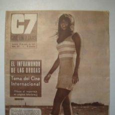 Cine: C7 CINE EN 7 DÍAS Nº 327 JULIO 1967 - MARIE FRANCE PISSIER. Lote 274855238