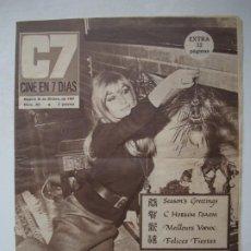 Cine: C7 CINE EN 7 DÍAS Nº 351 - DICIEMBRE 1967 EXTRA - MARISOL / CHARLOTTE RAMPLING / PAMELA TIFFIN. Lote 274870053