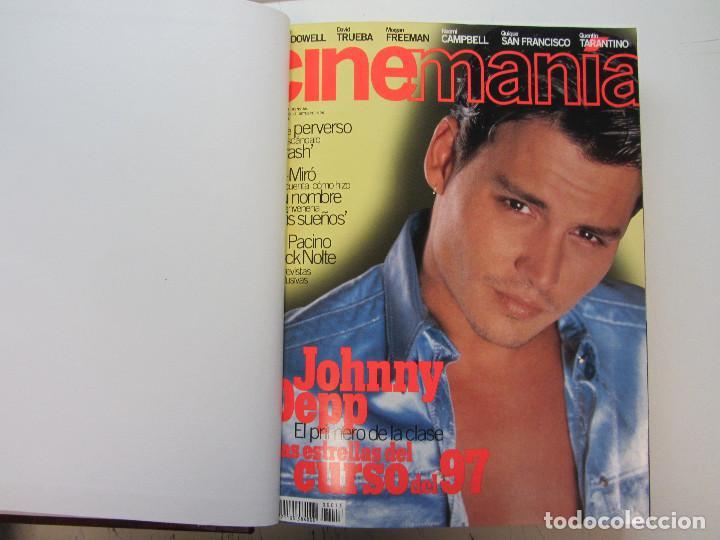 Cine: Cinemania. 6 revistas encuadernación de lujo. año 1996 y 1997 Nº 13,14,15,16,17 y 18 - Foto 6 - 275126618