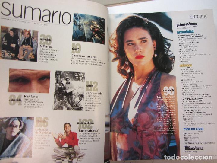 Cine: Cinemania. 6 revistas encuadernación de lujo. año 1996 y 1997 Nº 13,14,15,16,17 y 18 - Foto 7 - 275126618