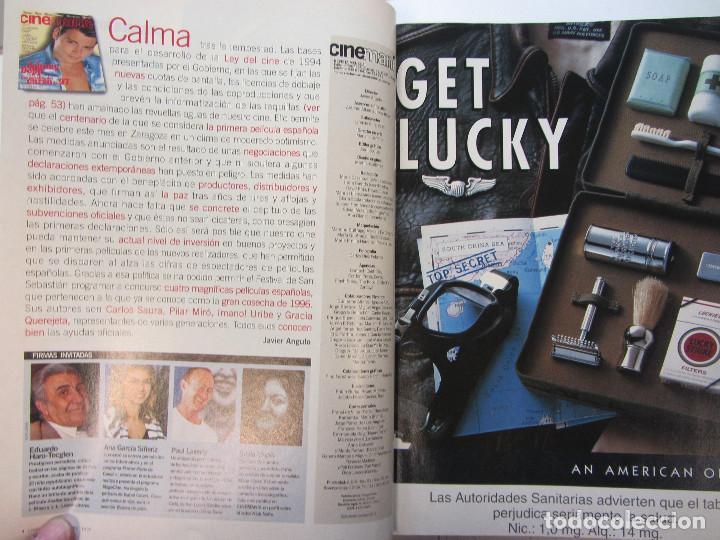 Cine: Cinemania. 6 revistas encuadernación de lujo. año 1996 y 1997 Nº 13,14,15,16,17 y 18 - Foto 8 - 275126618