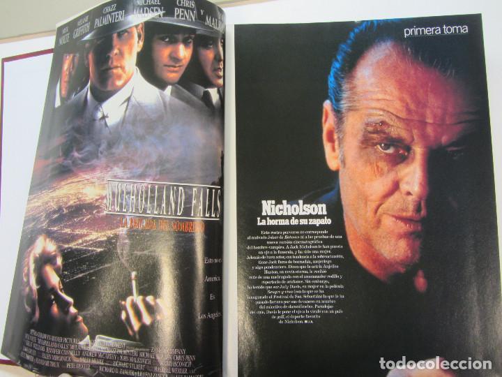 Cine: Cinemania. 6 revistas encuadernación de lujo. año 1996 y 1997 Nº 13,14,15,16,17 y 18 - Foto 9 - 275126618