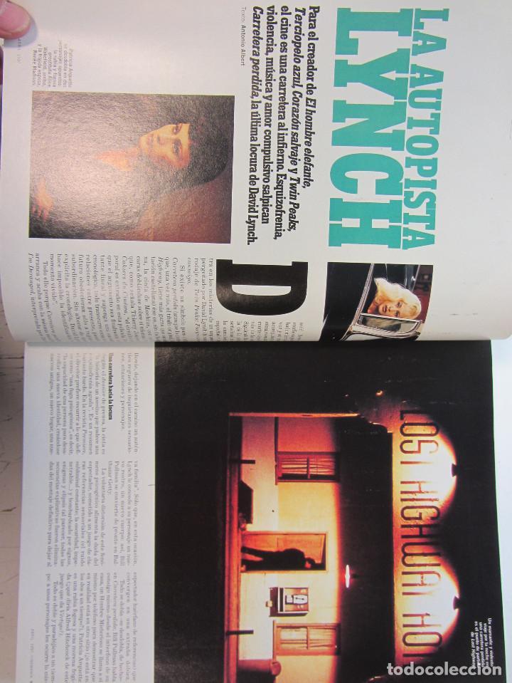 Cine: Cinemania. 6 revistas encuadernación de lujo. año 1996 y 1997 Nº 19, 20,21,22,23 y 24. - Foto 8 - 275128578