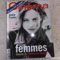 Cine: LE NOUVEAU CINEMA Nº 4, SPECIAL FEMMES, EN FRANCES, JODIE FOSTER, 2000. Lote 275216598