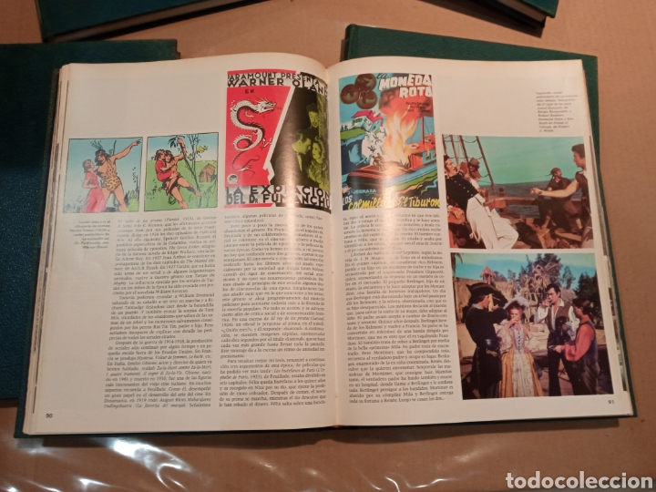 Cine: EL CINE ENCICLOPEDIA DEL 7º ARTE BURU LAN COMPLETA 1973 8 tomos - Foto 6 - 275303033