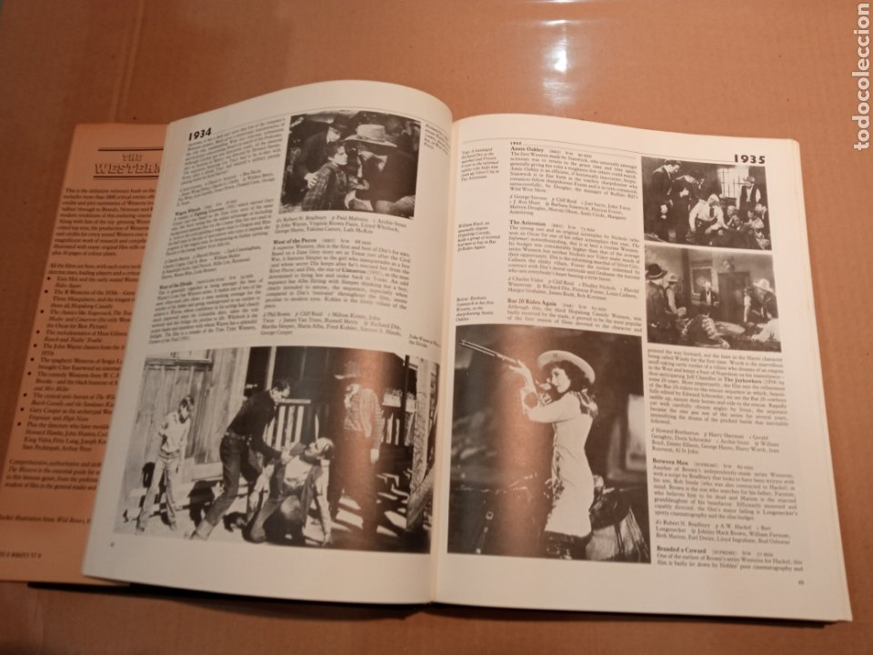 Cine: ENCICLOPEDIA ILUSTRADA DEL WESTERN CINE DEL OESTE THE WESTERN PHIL HARDY LIBRO - Foto 4 - 275514388
