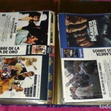 Cine: LOTE DE CIENTOS DE CARÁTULAS VHS Y DVD. 2KG. DE PESO.. Lote 275520403