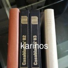 Cine: CASABLANCA PAPEPELES DE CINE 1981, 1982, 1983, 1984 (COMPLETA). Lote 276027118