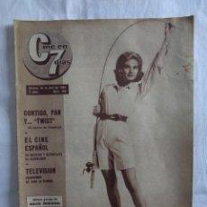 Cine: CINE EN 7 DIAS Nº 158 - SOLEDAD MIRANDA / RITA HAYWORTH /MARLON BRANDO / LOLA FLORES ... 1964. Lote 276263368